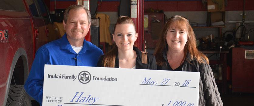 Dick's Auto Group Scholarships - Haley