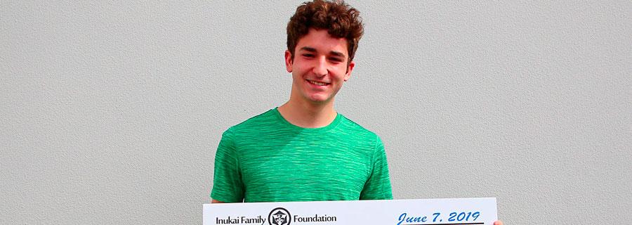Scholarship Winner Devin H.