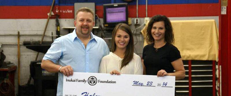 2013 Inukai Family Foundation Scholarship Winner Haley.