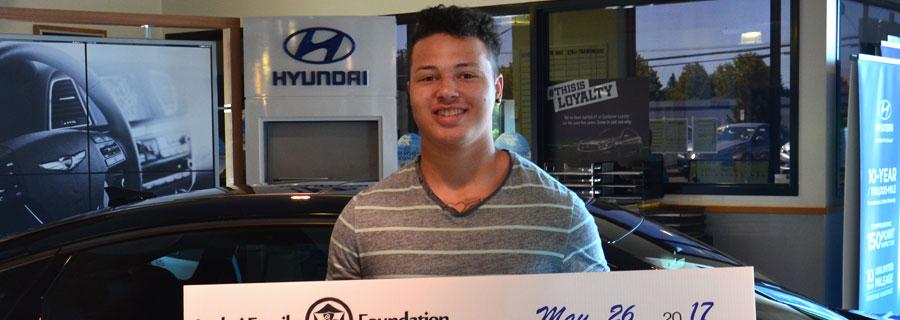 2016 Dick's Auto Group Scholarship Recipient